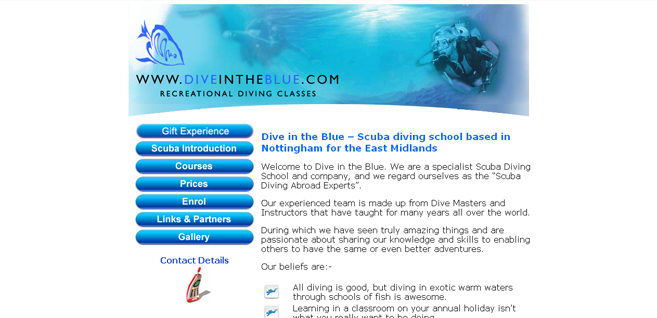 dive-in-the-blue